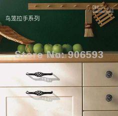 wholesale classic circular birdcage cabinet knob