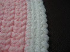 Crochet Edgings for Beginners | Hooked on Needles: Reverse Single Crochet Border - Video Tutorial
