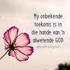 My toekoms is in God se hande Prayer Verses, Bible Verses Quotes, Words Quotes, Random Quotes, Sayings, Christian Messages, Christian Quotes, Afrikaanse Quotes, Inspirational Qoutes