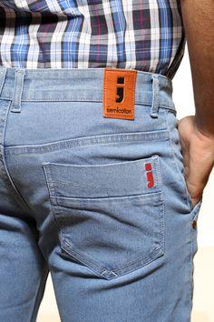 Semicollon Lightweight Denim Jeans...back pocket design visit semicollon.com for more collection