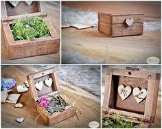 pudełko na obrączki pudełeczko pierścionek vintage Wood Watch, Wedding Inspiration, Decor, Wooden Clock, Decoration, Decorating, Deco