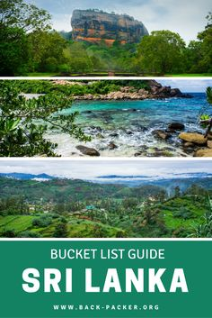 A bucket list guide to exploring Sri Lanka, including 5 of the best things to do and see in this underrated Asian country. From wildlife safaris in Yala National Park to snorkeling on Pigeon Island, these are experiences you won't want to miss on your trip to Sri Lanka. | Back-packer.org #Travel #SriLanka