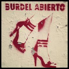 Burdel abierto! #streetart #buenosaires