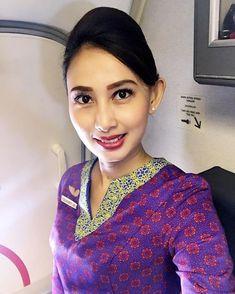 【Indonesia】 Sriwijaya Air cabin crew / スリウィジャヤ航空 客室乗務員 【インドネシア】
