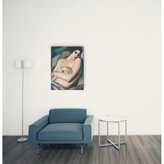 DE LEMPICKA - Rafaela sur fond vert 67x89 cm #artprints #interior #design #art #prints  Scopri Descrizione e Prezzo http://www.artopweb.com/EC21801