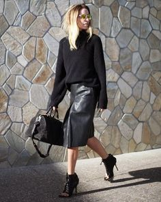 25 all black looks to die for| 25 total looks noirs inspirants #style