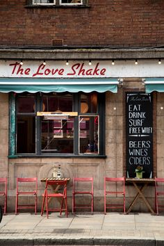 let's all go have lunch at the love shake hoxton, shoreditch, london