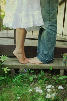 barefoot and in love