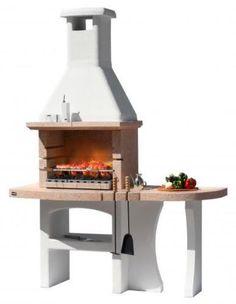 Dettagli su barbecue in muratura a legna con acquaio esterno Holzgrill mit externem Waschbecken Dubai, Barbacoa, Masonry Bbq, Outdoor Fire, Outdoor Decor, Interior Garden, Home Living, Decoration, Foyer