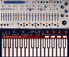 new incarnation of the 1973 Buchla Music Easel, portable synthesizer and control system