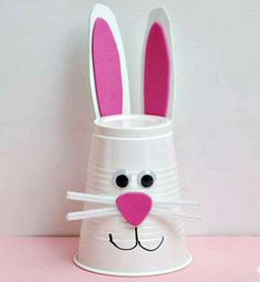 Pic for 50 Easter Crafts for Kids - Bunny Cup - Easter Craft Ideas for Pre. Click Pic for 50 Easter Crafts for Kids - Bunny Cup - Easter Craft Ideas for Pre., Click Pic for 50 Easter Crafts for Kids - Bunny Cup - Easter Craft Ideas for Pre. Bunny Crafts, Easter Crafts For Kids, Easter Ideas, Rabbit Crafts, Easter Art, Easter Eggs, Easter Garden, Easter Table, Easter Decor