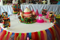 candy land first birthday