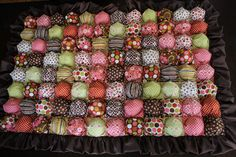 Bubble Blankets! I either need to learn how to sew... Or find someone to make this for me! Love it. Looks like a box of candy!