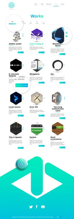 Website by Elastika , via Behance Web Design Mobile, Portfolio Web Design, Communication Design, First Page, User Interface, Graphic, Lorem Ipsum, Inspire Me, It Works