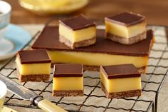 au/recipes/show/dark-chocolate-caramel-slice Chocolate Caramel Slice, Chocolate Caramels, Homemade Caramel Recipes, Baking Recipes, Dessert Recipes, Delicious Desserts, Yummy Food, Chocolates, Bonbon