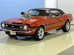 "1968 Chevrolet Camaro: ""WOW"" As AL Delveciio would say ""YEP,yep,yep,yep !!!!! Oh ~ Arnold`s Cook (HAPPY~DAY`s)"