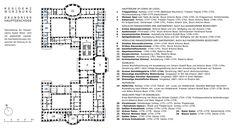 Bishop's Place called Residenz at Würzburg -Floor Plans  WburgRes_PianoNobileGr.jpg (1419×774)