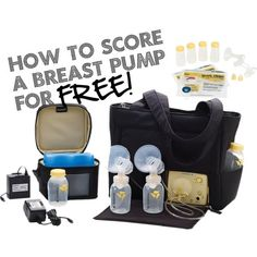 How to Score a Breast Pump for Free! (Seriously, all mommies-to-be need to read this. I just called my insurance company and they will cover 100% of a brand new breast pump for me. So pumped! -Jenna)
