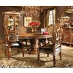 AICO Furniture - Villa Valencia Round Dining Room Set - AICO-72001-ROOM  SPECIAL PRICE: $4,944.00
