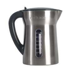 With a stainless steel fingerprint-proof finish, the 10-cup BPA-free Reduce™ Water Filtration Pitcher serves water in style.  #brunch #water