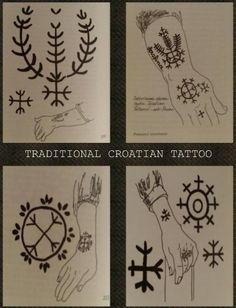 Hrvatska udruga ljubitelja tetovaže i piercinga : Tradicionalno tetoviranje Hrvata