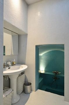 sunken tub room Oh My bathroom!