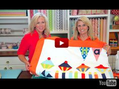 Riley Blake Designs presents July Block of the Month Video