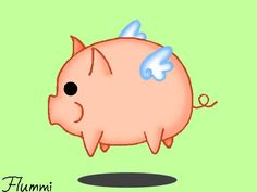 Flying pig by ~flumminess on deviantART