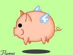 Flying pig by ~flumminess on deviantART