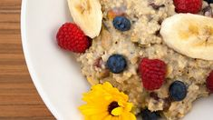 Ingredients 1 cup ml) millet 4 cups L) almond milk ¼ cup ml) pumpkin seeds ¼ cup ml) pistachios ¼ cup ml) raisins ¼ tsp ml) cinnamon ¼ cup ml) raspberries ½ banana, sliced Directions Add millet to a saucepan and toast a few minutes until it starts […] Diabetic Recipes, Vegan Recipes, Snack Recipes, Cooking Recipes, Millet Porridge, A Food, Food And Drink, Vegetarian Main Course, Millet Recipes