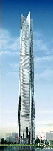 #4 - Goldin Finance 117, Tianjin, China | P & T Group. ECADI | Height (when completed): 1,958.68 feet