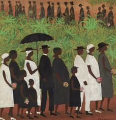 Funeral Procession by Ellis Wilson as seen on the Cosby Show