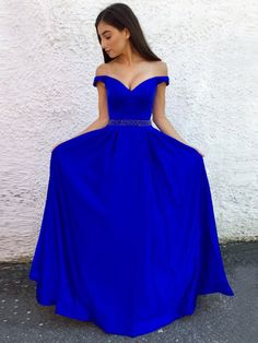 Royal Blue Prom Dress,Off the shoulder Prom Dress,Mermaid Long Prom Dress , Satin Prom Dress,Sexy Evening Dress Anna Bridal Studio Pageant Dresses For Teens, Royal Blue Prom Dresses, Elegant Bridesmaid Dresses, Simple Prom Dress, A Line Prom Dresses, Mermaid Prom Dresses, Cheap Prom Dresses, Dress Long, Homecoming Dresses