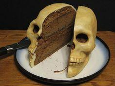 Skull Cake. Omg