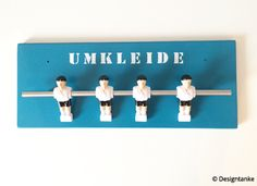 Designtanke // DIY // Kickergarderobe