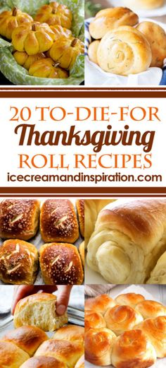 You'll find the perfect Thanksgiving roll recipe here with this collection of 20 To-Die-For Thanksgiving Roll Recipes. You'll find the perfect Thanksgiving roll recipe here with this collection of 20 To-Die-For Thanksgiving Roll Recipes. Best Thanksgiving Recipes, Thanksgiving Drinks, Thanksgiving Appetizers, Thanksgiving Side Dishes, Holiday Recipes, Rolls For Thanksgiving, Christmas Recipes, Thanksgiving Turkey Recipes, Thanksgiving Prayer