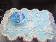 Frozen Cupcakes Cake