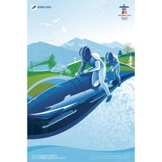 2010 Winter Olympics. Bobsleigh