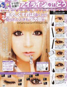 Himegyaru Make up                                                                                                                                                                                 More