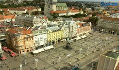 Web kamera Ban Jelačić Square in Zagreb