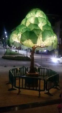 Águeda - Portugal Umbrella Decorations, Diy Wedding Decorations, Garden Whimsy, Garden Art, Urban Landscape, Landscape Design, Jungle Centerpieces, Project Place, Umbrella Wedding