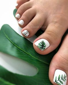 Here are the best Summer Toe Nail Design ideas for you. Keep your style game strong with Toe Nail designs for Summer. Best Summer Nail Art ideas are here. Pretty Toe Nails, Cute Toe Nails, My Nails, Gel Toe Nails, Jamberry Nails, Acrylic Nails, Toe Nail Color, Toe Nail Art, Nail Colors