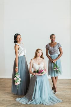 Stunning Bridesmaids Dresses and Evening Wear. Designed to be worn again & again. Lola Wilde, bringing back the charm to the bridesmaids experience. Bridesmaid Inspiration, New Romantics, Bridesmaid Dresses, Wedding Dresses, Tulle, Feminine, How To Wear, Collection, Tops