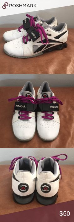 Reebok Lifters U-Form Reebok Oly Lifters. U-Form. Great for lifting! Only worn a handful of times, excellent condition. Reebok Crossfit. Reebok Shoes
