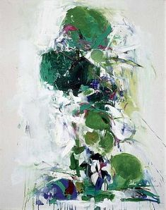 Joan Mitchell Untitled 1967-68 (US Abstract Expressionist painter)