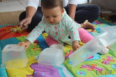 Atividades para bebes de 6-12 meses