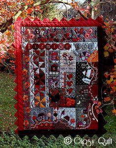 Gypsy Quilt: Patchwork  barbarasangi