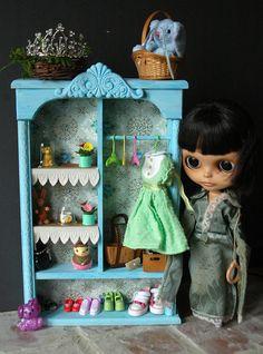 Blythe Closet Armoire. $45.00, via Etsy.