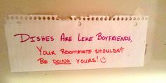 26 passive aggressive housemate notes that are both hilarious and terrifying -Cosmopolitan.co.uk
