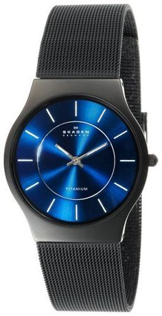 Skagen Men's 233LTMN Titanium Black Mesh Watch Skagen, http://www.amazon.com/dp/B0000C9ZBX/ref=cm_sw_r_pi_dp_nhVYqb1J0WYQ0